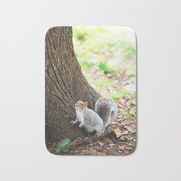 83. Squirrel in Madison Square, New York Bath Mat