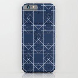 Boho Blues iPhone Case