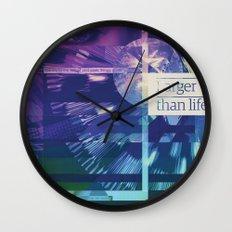 Larger Than Life Wall Clock