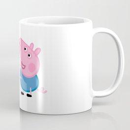 George Pig Dinosaur Coffee Mug