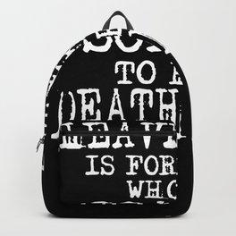 Heavy Metal Vs. Death Metal Backpack