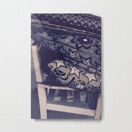 PATTERN RUE Metal Print