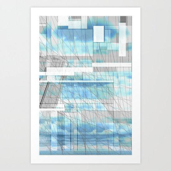 Sky Scraped Art Print