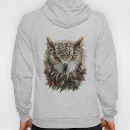 Owl Face Grunge Hoody