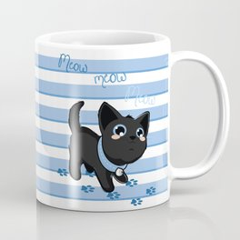Kitty Meow Coffee Mug