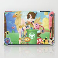 final fantasy iPad Cases featuring Pin'up Yuna - Final Fantasy by Sahyuri