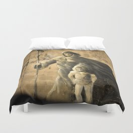 Saint James Way - Camino de Santiago Duvet Cover