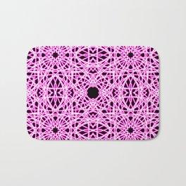 Pink Chaos 10 Bath Mat