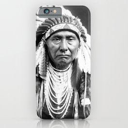 Vintage Chief Joseph Native American iPhone Case