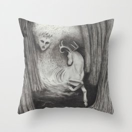 Eikthyrni Throw Pillow