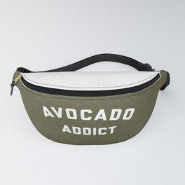 Avocado Addict Funny Quote Fanny Pack