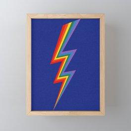 Thunder Rainbow Framed Mini Art Print