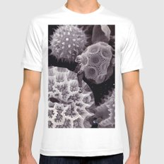 Tiny Universe Mens Fitted Tee White MEDIUM