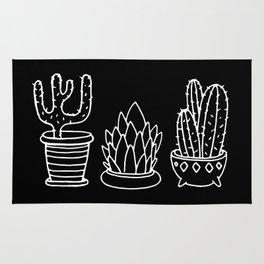 Plants in Pots Rug
