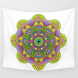 Mandala Satu Wall Tapestry