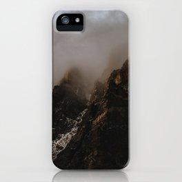 Jagged Peaks iPhone Case