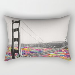 It's in the Water Rectangular Pillow