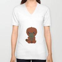 platypus V-neck T-shirts featuring Platypus by triduscraft