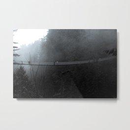 Dark Capilano Bridge Metal Print