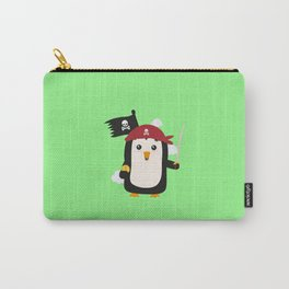 Penguin Pirate Goldcoin T-Shirt D7sp3 Carry-All Pouch
