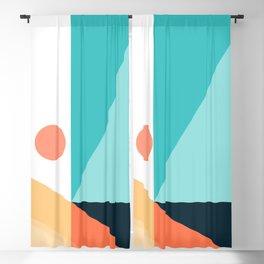 Geometric 1709 Blackout Curtain