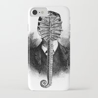 alien iPhone & iPod Cases featuring Alien by DIVIDUS