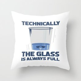 Funny Sayings Science Physics Student Teacher Gift Throw Pillow