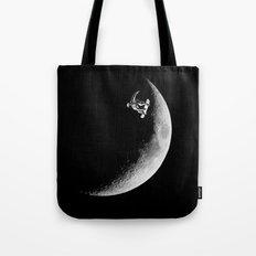 Moon boarder Tote Bag