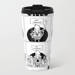 Hole Metal Travel Mug