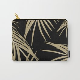 Gold Palm Leaves Dream #2 #tropical #decor #art #society6 Carry-All Pouch