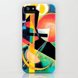 Kandinsky – In Blue iPhone Case