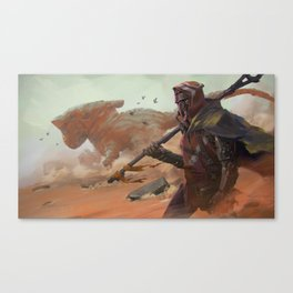 Android Wanderer Canvas Print