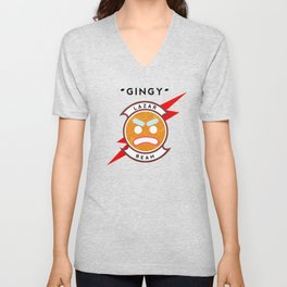 Gingy LazarBeam Unisex V-Neck