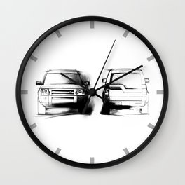 Discovery 3 - LR3 Wall Clock