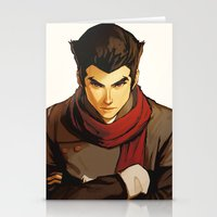 returns Stationery Cards featuring Mako Returns by Caleb Thomas