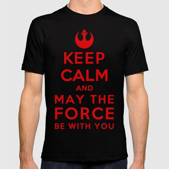 Keep Calm Star Wars - May the Force be with you T-shirt