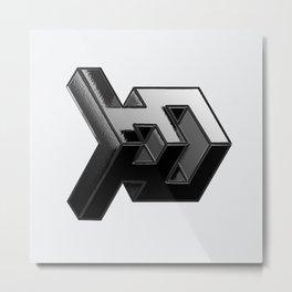 Projectile Metal Print