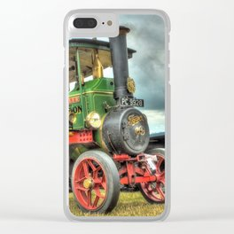 Foden Steam Wagon Clear iPhone Case