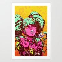 LOLIPOP Art Print