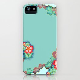 Tropical Mint iPhone Case