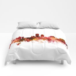 Knoxville Tennessee Skyline Comforters