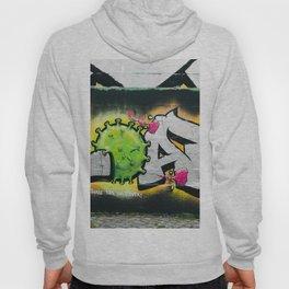Graffiti Tag Urban Art Virus Hoody