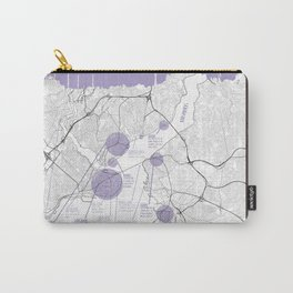 Istanbul travel map Carry-All Pouch