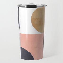 Geometric Moontime 1 Travel Mug