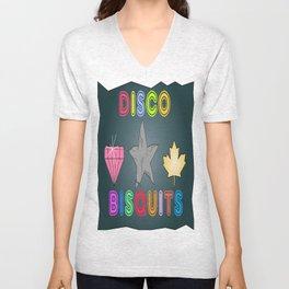 Disco Biscuits Unisex V-Neck