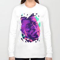 wesley bird Long Sleeve T-shirts featuring Wesley snipes // Bad actors v2 by mergedvisible