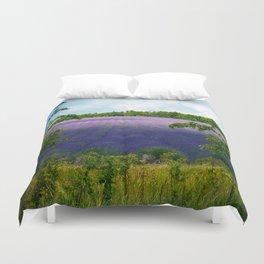 Summertime Lavender Duvet Cover