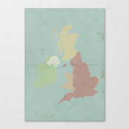The Isles Canvas Print