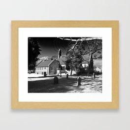 The church of Haxby Framed Art Print