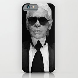 Karl Lagerfeld iPhone Case
